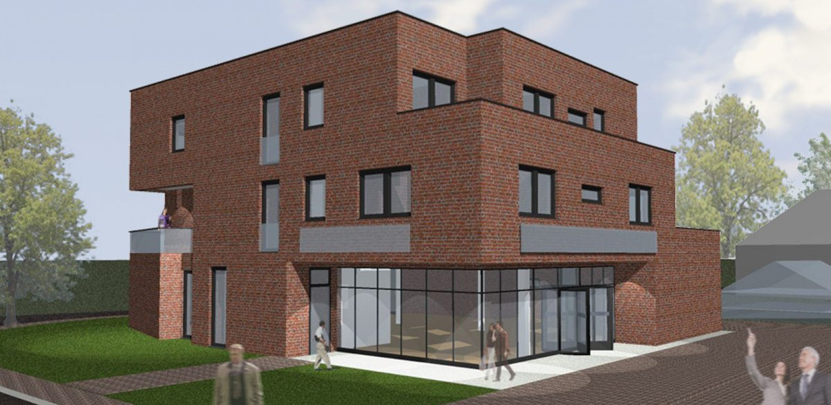 wohn und gesch ftshaus f nfhausen k2b architekten. Black Bedroom Furniture Sets. Home Design Ideas